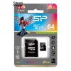 SD Micro 64 GB Silicon Power Class10 R/W85/15 MB/s
