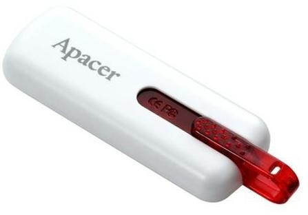 USB Flash Apacer 32Gb AH326 Retail White