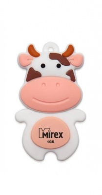 USB Flash Mirex COW PEACH 16GB