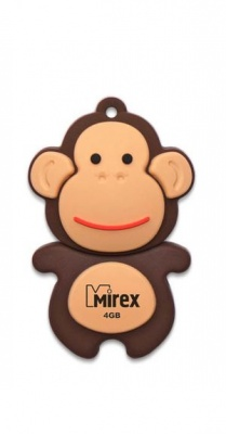 USB Flash Mirex MONKEY BROWN 16GB