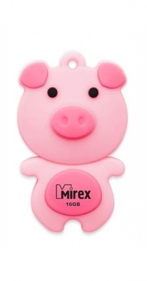 USB Flash Mirex PIG PINK 16GB