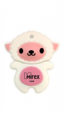 USB Flash Mirex SHEEP PINK 16GB