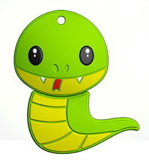 USB Flash Mirex SNAKE GREEN 16GB