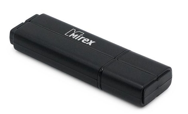 USB Flash Mirex LINE black 32GB