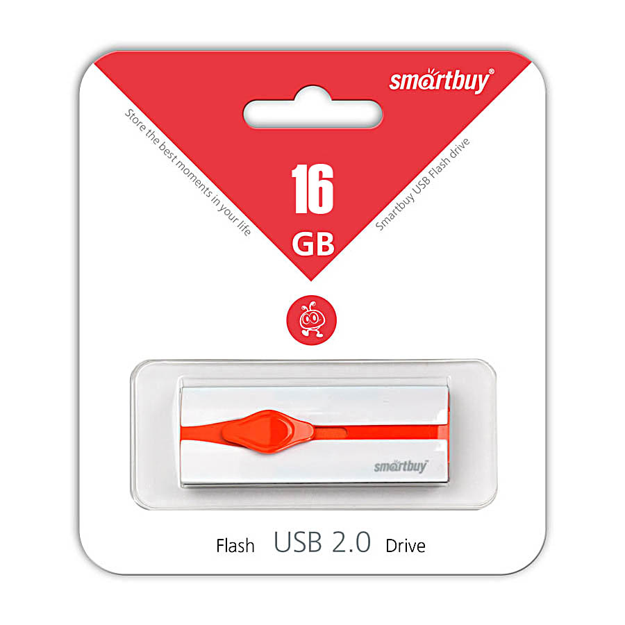 USB Flash Smart Buy 16Gb Comet White