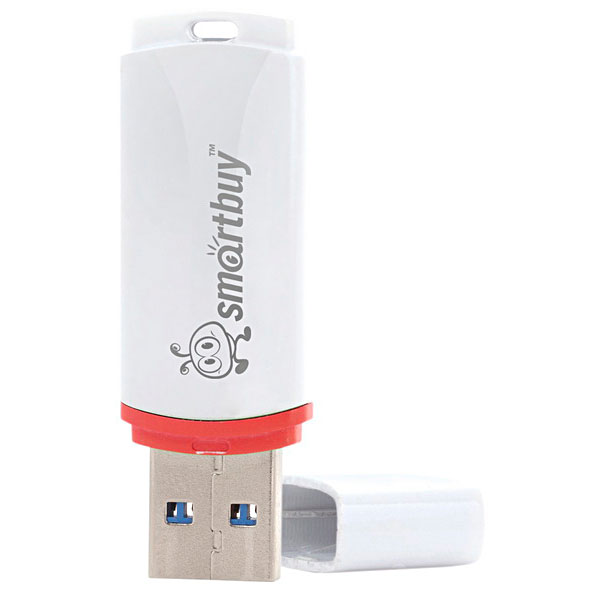 USB Flash Smart Buy 32Gb Crown White