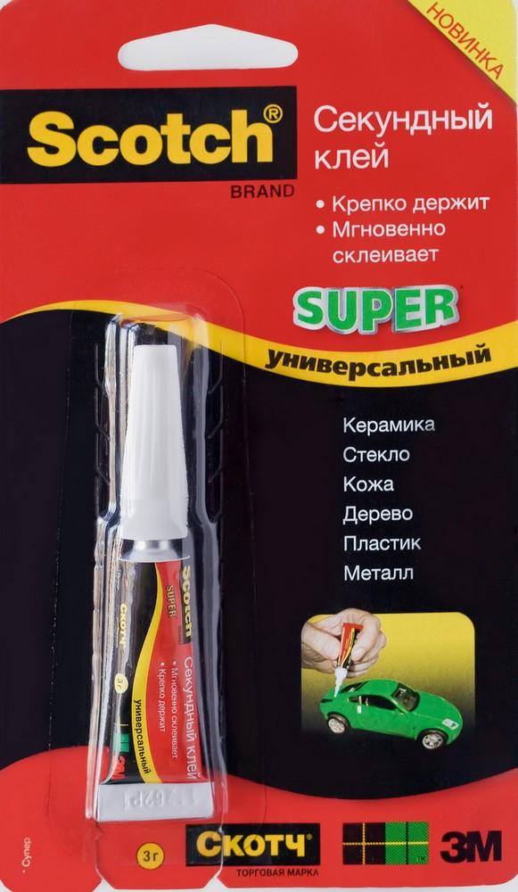 Секундный супер-клей Scotch®