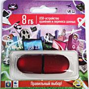 USB флэш-карта (красная)