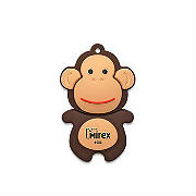 USB-накопитель Mirex MONKEY BROWN 8GB (ecopack)