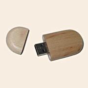USB Flash Сувенир 8GB Дерево овал